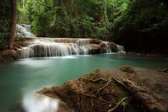 Waterval - Kanchaburi - Hua Mae Kamin Stock Afbeelding