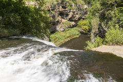 Waterval in Kloof Stock Foto