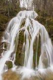 Waterval in Kostel, Slovenië, Midden-Europa Stock Afbeeldingen
