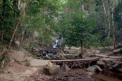 Waterval Mae Kham Pong Stock Foto