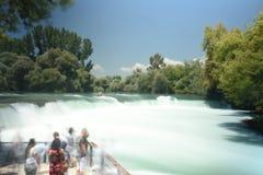 Waterval Manavgat in Turkije royalty-vrije stock foto