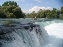 Waterval in Manavgat in Turkije Royalty-vrije Stock Foto