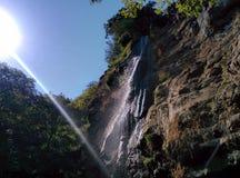 Waterval in Masalli stock afbeeldingen