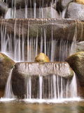 Waterval in Motie Stock Afbeelding
