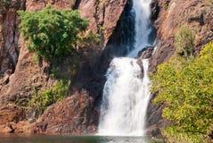 Waterval in Nationaal Park Litchfield royalty-vrije stock fotografie