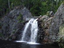 Waterval in New Brunswick Royalty-vrije Stock Afbeeldingen