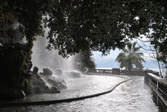 Waterval in Nice Stock Foto's