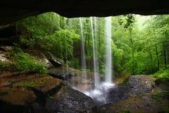 Waterval in noordelijk Alabama Royalty-vrije Stock Foto