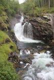 Waterval in Noorwegen Stock Afbeeldingen