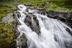 Waterval in Noorwegen Royalty-vrije Stock Afbeeldingen