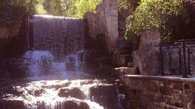 Waterval op Canada stock videobeelden