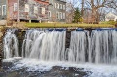 Waterval op de Otterkreek royalty-vrije stock afbeeldingen
