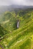 Waterval op Kauai Stock Fotografie