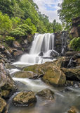 Waterval op Laurel Creek Royalty-vrije Stock Afbeelding