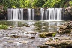 Waterval op Ludlow-Kreek Stock Afbeeldingen