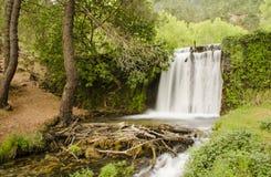 Waterval op rivier Royalty-vrije Stock Afbeelding