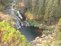 Waterval in Oregon Royalty-vrije Stock Afbeelding