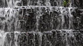 Waterval in Park stock videobeelden