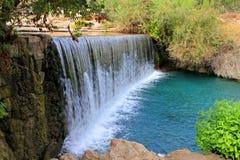 Waterval in Park Stock Fotografie