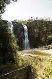 Waterval Pirenopolis - Goias - Brazilië Stock Foto