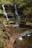Waterval in pwll-y-Wrach Royalty-vrije Stock Foto's