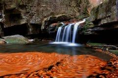 Waterval Satina Royalty-vrije Stock Afbeelding