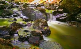Waterval Skryje royalty-vrije stock foto's