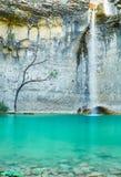 Waterval Sopot, Istria, Kroatië stock afbeeldingen