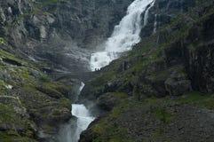 Waterval Stigfossen Stock Afbeeldingen