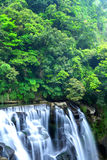 Waterval in Taiwan Stock Afbeelding