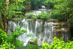 Waterval in Thailand royalty-vrije stock afbeelding