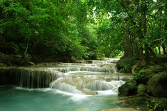 Waterval in Thailand Stock Foto's