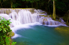 Waterval in Thailand. Royalty-vrije Stock Afbeelding