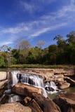 Waterval in Thailand stock afbeeldingen