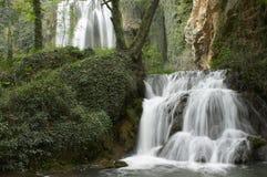 Waterval twee Royalty-vrije Stock Afbeelding