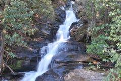 Waterval twee Stock Foto