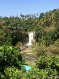 Waterval in Ubud, Bali royalty-vrije stock afbeeldingen