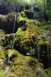 Waterval in Vallei Yelang Royalty-vrije Stock Afbeeldingen