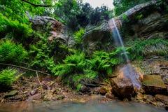 Waterval van Canale Monterano Stock Fotografie
