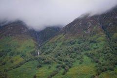 Waterval van de wolken stock afbeeldingen