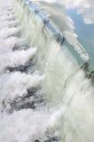 Waterval van een slot royalty-vrije stock afbeelding