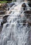 Waterval van het Park van Acadia de Nationale Stock Afbeelding