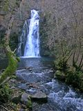 Waterval van Leiroso, Gr Bierzo royalty-vrije stock foto