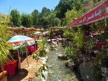 Waterval van Mevr. fatima stock fotografie