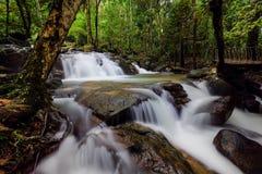 Waterval van Thailand Royalty-vrije Stock Afbeeldingen