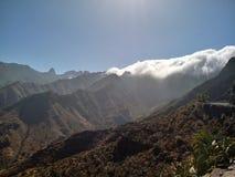 Waterval van wolken royalty-vrije stock foto