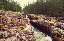 Waterval in Vancouver Stock Afbeelding