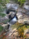 Waterval Vermont Royalty-vrije Stock Afbeelding