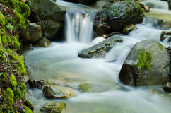 Watervalcascade royalty-vrije stock fotografie