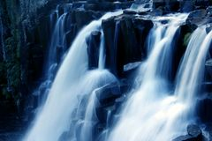 Watervallen Royalty-vrije Stock Afbeeldingen